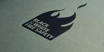 black-foil-logo